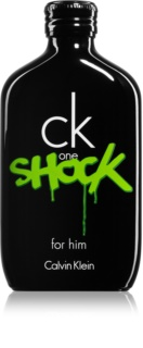 Calvin Klein CK One Shock Eau de Toilette Herren 100 ml