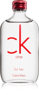 Calvin Klein CK One Red Edition Eau de Toilette für Damen 50 ml