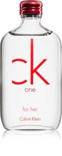 Calvin Klein CK One Red Edition toaletní voda pro ženy 50 ml
