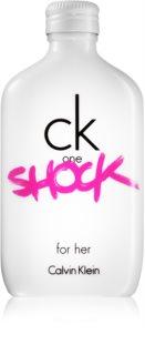 Calvin Klein CK One Shock Eau de Toilette für Damen 200 ml