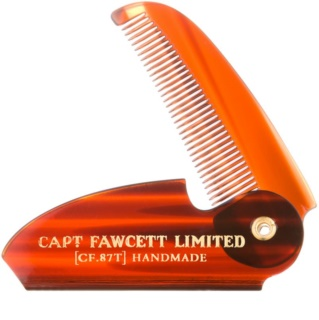 Captain Fawcett Accessories Klappbarer Schnurrbartkamm
