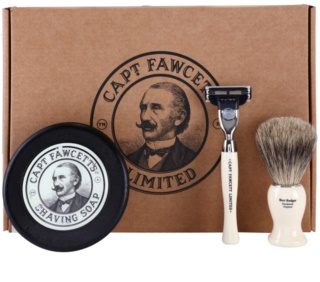 Captain Fawcett Shaving kit di cosmetici I.