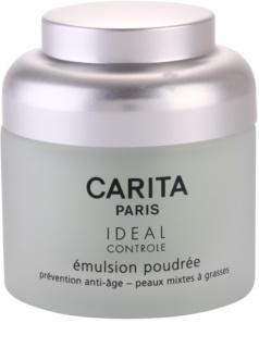 Carita Ideal Controle emulze s pudrovým efektem pro smíšenou a mastnou pleť