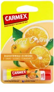 Carmex Sweet Orange hydratačný balzam na pery v tyčinke
