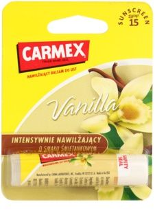 Carmex Vanilla Moisturising Lip Balm SPF15