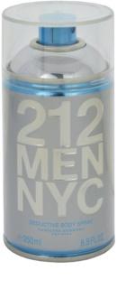 Carolina Herrera 212 NYC Men spray de corpo para homens 250 ml