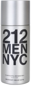 Carolina Herrera 212 NYC Men deodorant Spray para homens 150 ml