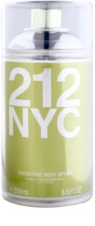 Carolina Herrera 212 NYC spray de corpo para mulheres 250 ml