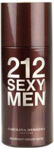 Carolina Herrera 212 Sexy Men deodorant Spray para homens 150 ml