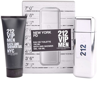 Carolina Herrera 212 VIP Men darilni set V.