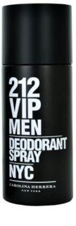 Carolina Herrera 212 VIP Men deodorant Spray para homens 150 ml