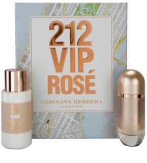 Carolina Herrera 212 VIP Rosé zestaw upominkowy II.