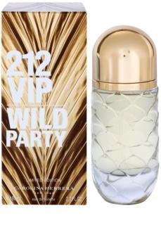 Carolina Herrera 212 VIP Wild Party Eau de Toilette für Damen 80 ml