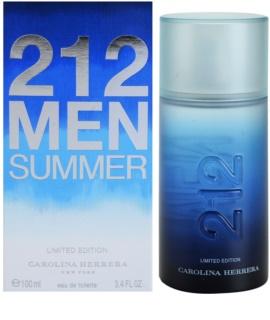 Carolina Herrera 212 Men Summer Eau de Toilette para homens 100 ml