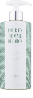 Caron Pour Un Homme sprchový gel pro muže 500 ml