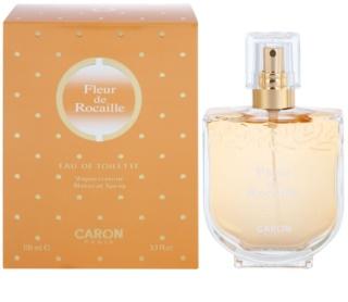 Caron Fleur de Rocaille eau de toilette esantion pentru femei 2 ml