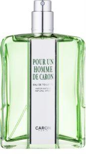 Caron Pour Un Homme woda toaletowa tester dla mężczyzn 125 ml