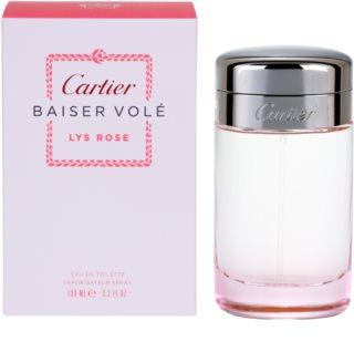 Cartier Baiser Volé Lys Rose Eau de Toilette para mulheres 100 ml