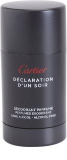 Cartier Declaration d'Un Soir desodorante en barra para hombre 75 ml