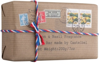 Castelbel Postcards Lemon & Basil Bar Soap For Hands
