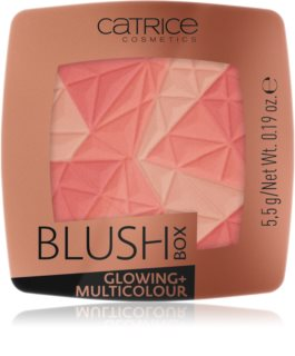 Catrice Blush Box Glowing + Multicolour  blush iluminador