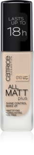 Catrice All Matt Plus maquillaje matificante