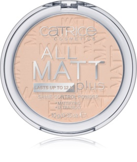 Catrice All Matt Plus pudra matuire