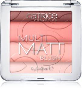 Catrice Multi Matt róż do policzków z matowym wykończeniem