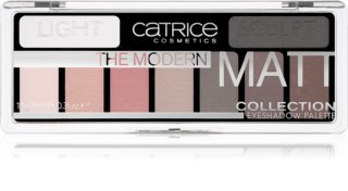 Catrice The Modern Matt Collection paleta cieni do powiek
