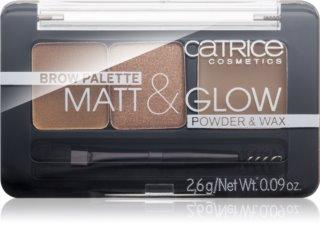 Catrice Matt & Glow set za obrve