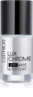 Catrice Luxchrome base et top coat