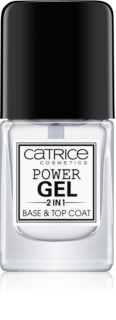 Catrice Power Gel 2 in1 verniz de unhas de base e cobertura