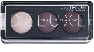 Catrice Deluxe trio oční stíny