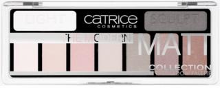 Catrice The Modern Matt Collection paleta cieni do powiek