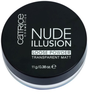 Catrice Nude Illusion matující transparentní pudr