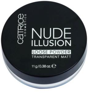Catrice Nude Illusion zmatňujúci transparentný púder