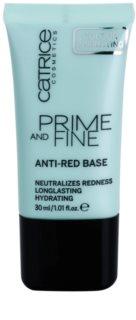 Catrice Prime And Fine base contra vermelhidão