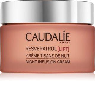 Caudalie Resveratrol [Lift] regenerierende Nachtcreme mit glättender Wirkung
