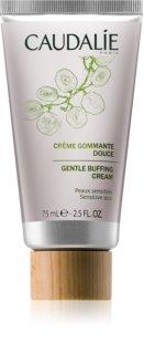 Caudalie Masks&Scrubs Creme esfoliante suave para pele sensível