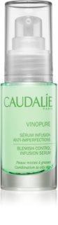 Caudalie Vinopure Gesichtsserum gegen die Unvollkommenheiten der Haut