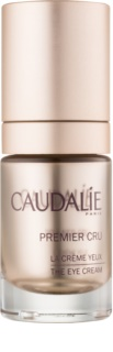 Caudalie Premier Cru притивобръчков крем за околоочната зона, намаляващ отоците и черните кръгове