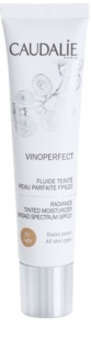 Caudalie Vinoperfect Radiance Tinted Fluid With Moisturizing Effect