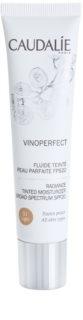 Caudalie Vinoperfect aufhellendes Tönungsfluid mit feuchtigkeitsspendender Wirkung