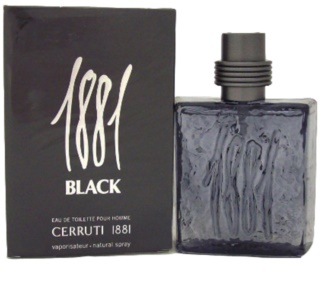 Cerruti 1881 Black Eau de Toilette for Men 100 ml