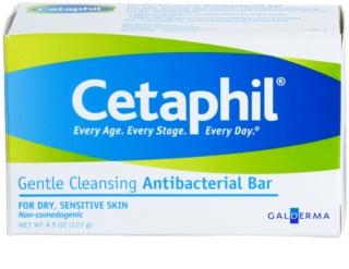 Cetaphil Cleansers sanfte, antibakterielle Reinigungsseife für trockene und empfindliche Haut