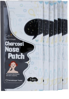 Cettua Charcoal Nose Pore Strips Against Blackheads