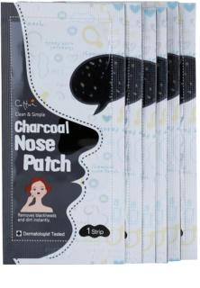 Cettua Charcoal čistiaca náplasť na zanesené póry na nose
