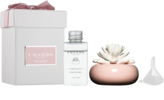 Chando Blooming Rose Garden Aroma Diffuser With Refill 40 ml