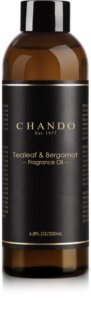 Chando Fragrance Oil Tealeaf & Bergamot Refill for aroma diffusers 200 ml