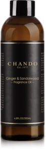 Chando Fragrance Oil Ginger & Sandalwood recarga para difusor de aromas 200 ml